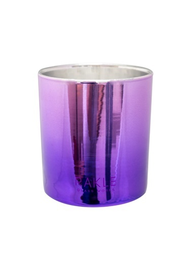 Rakle 210 gr Colurful Shine Candle Purple Mor